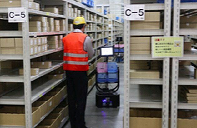 日通とラピュタロボが庫内作業省人化で連携