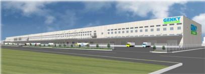 北陸・東海地盤のドラッグストア「ゲンキー」、岐阜でドライ・チルド・プロセスセンターを開発