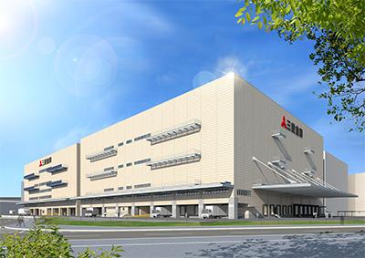三菱倉庫、埼玉・三郷で2・77万平方メートルの物流センター2期棟を建設へ