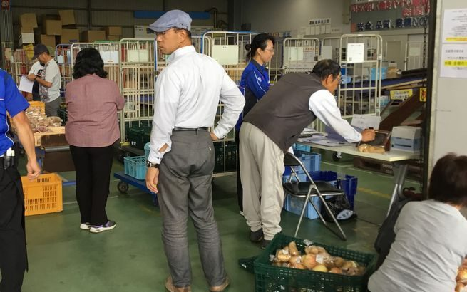 山梨・笛吹の佐川急便施設内に農産物出荷用集荷場を新設