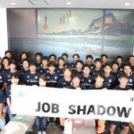 アマゾン、神奈川・小田原のセンターで湘南ベルマーレ選手対象に職業体験プログラム