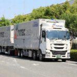 バンテック、静岡~京都間でダブル連結トラックの運行を開始