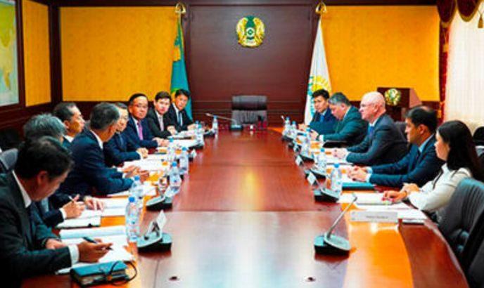 日本通運、カザフスタンに駐在員事務所配置