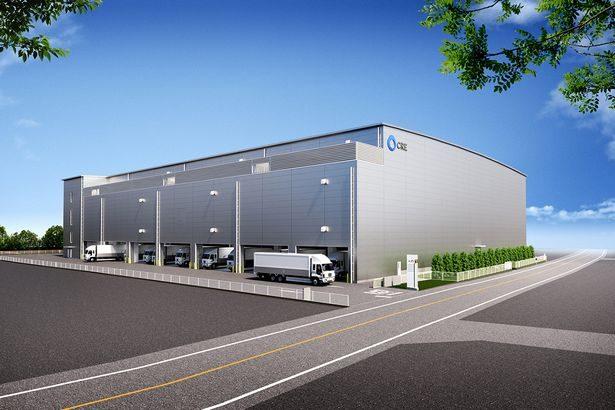 CRE、埼玉・三芳町で1・8万平方メートルの新たな物流施設開発へ