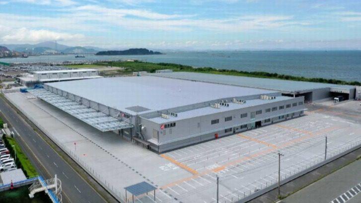 日通、福岡・苅田に自動車業界向けの新物流拠点開設