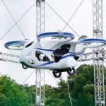 NECが「空飛ぶ車」の試作機を公開