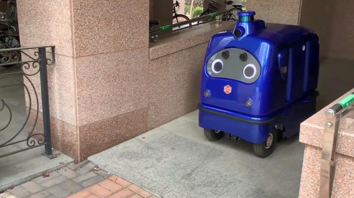 ZMP、オフィスビル内物流への宅配ロボット活用を支援