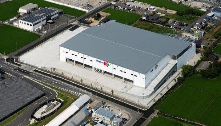 カトーレック、岡山・早島町で4温度帯物流センター完成