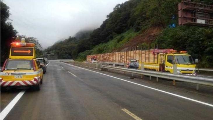 【災害】台風19号で不通の中央道八王子JCT~大月IC間が復旧