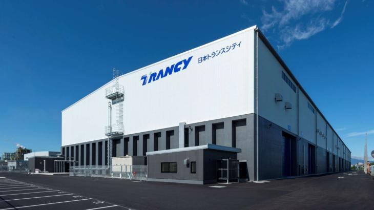 日本トランスシティ、三重・四日市で1・3万平方メートルの新倉庫が完成
