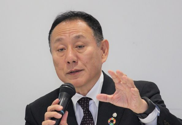 大和ハウス・芳井社長、物流など事業施設のストック事業拡大に意欲