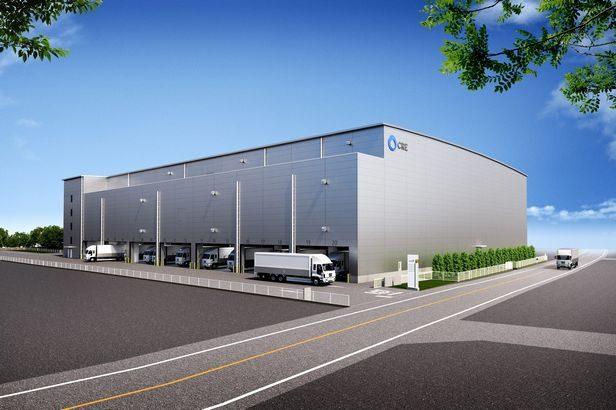 CRE、埼玉・三芳町で1・8万平方メートルの物流施設に着工