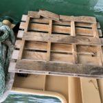古くなった木製パレットでおいしい牡蠣を養殖しよう!