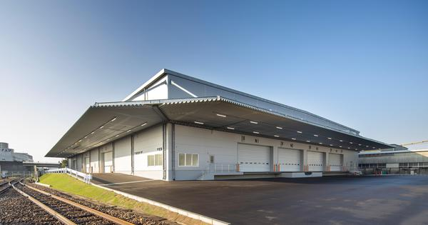 日鉄エンジ、名古屋のJR東海物流向け倉庫が完成
