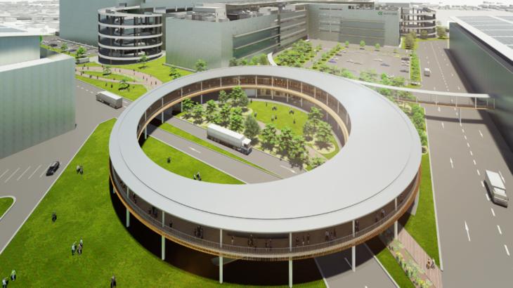 日本GLPが物流施設新ブランド「ALFALINK」創設、神奈川・相模原の大型施設が第1号に