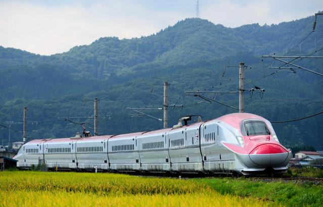 秋田新幹線で農産物の輸送試験を開始