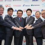 日野自やアサヒ、江崎グリコ、千代田運輸、トランコムなどが新たな幹線輸送構築で合意