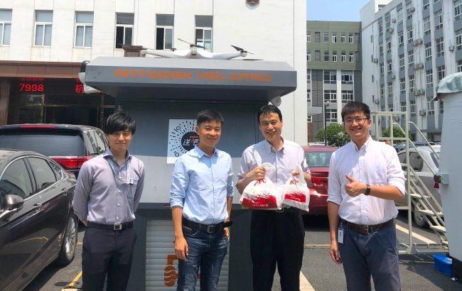 テラドローン、中国企業とドローン物流システムの日本独占代理店契約を締結