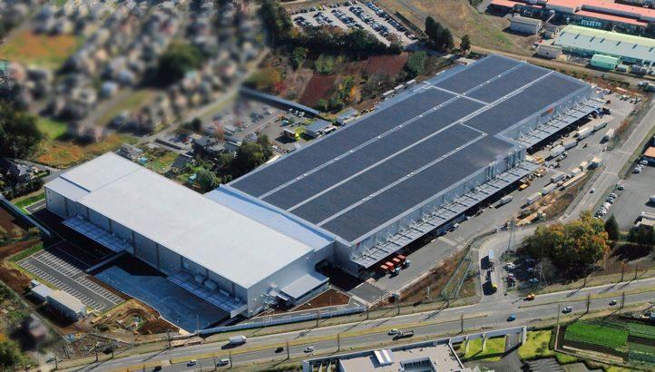 日立物流、茨城・つくばの物流センター増築棟が完成