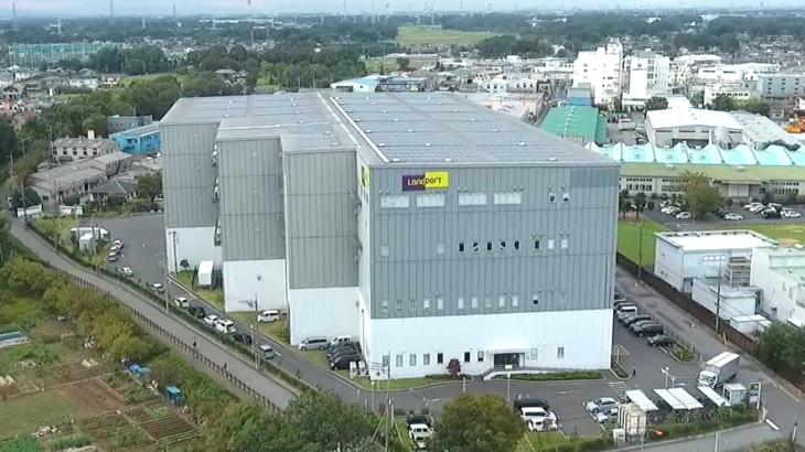 【動画】日立物流、埼玉・春日部のEC事業者向け最新「プラットフォームセンター」を公開(前編)