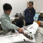 【動画】金沢工業大などが固定翼小型VTOLの試作機を開発、薬の輸送などへの応用視野