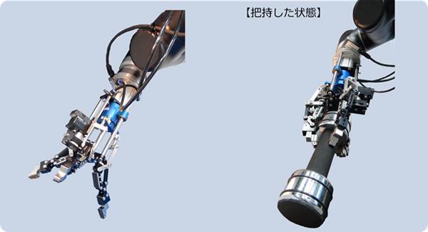 NEDOとダブル技研、都立産業技術高専が物流などに応用可能な3本指ロボットハンドを共同開発