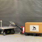 Doog、重量物向け追従運搬ロボットでベースユニットを20年2月ごろ発売へ