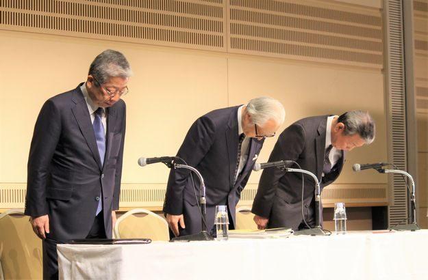 日本郵政グループ3社長がかんぽ問題で引責辞任表明