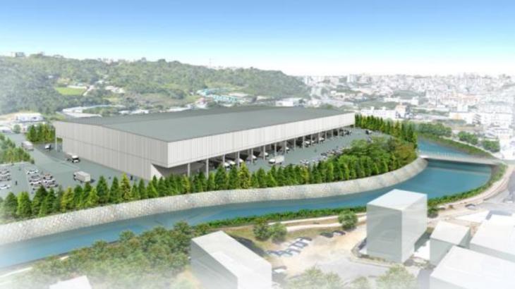 琉球海運、沖縄・豊見城に県内最大級の総合物流センター開発へ