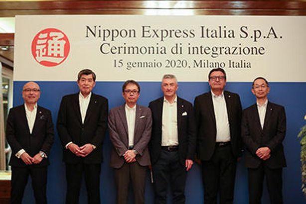 日本通運がイタリアのグループ3社を経営統合、欧州最大の現法に