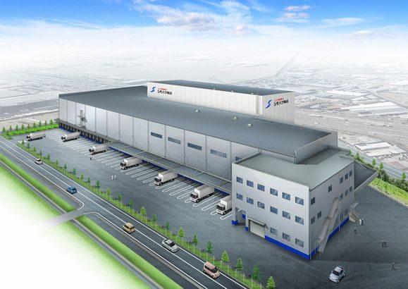 シモハナ物流、さいたま市で北関東最大の3PL対応物流センターを10月開設