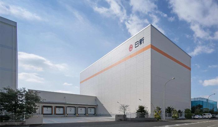 日新、神戸の摩耶埠頭で1・4万トンの新たな冷凍自動ラック倉庫が完成