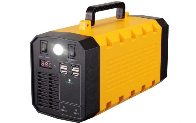 太平トレーディング取り扱いの防災用ポータブル蓄電池、日本GLPの物流施設17カ所に導入