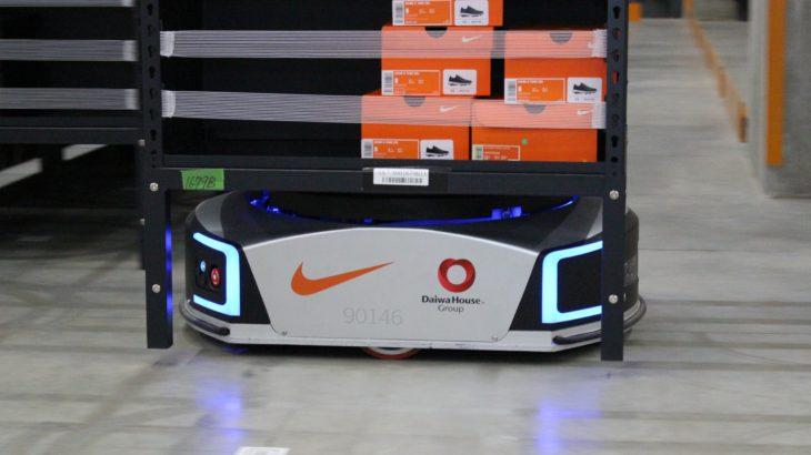 【動画】ギークプラス、ナイキにロボット導入効果向上のコンサルティング提供