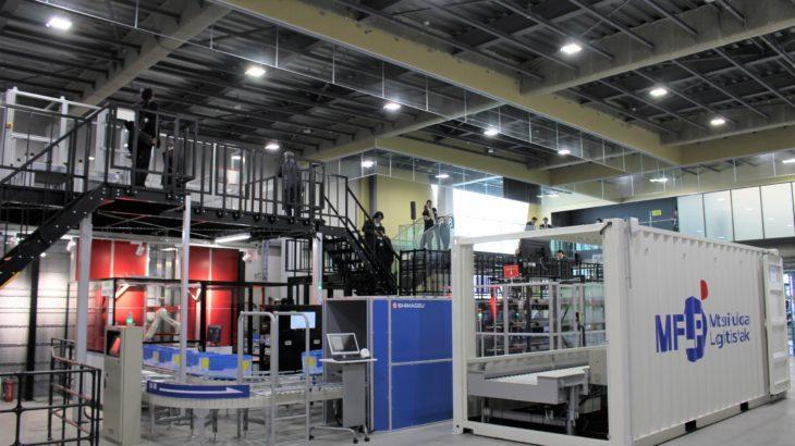 【動画】三井不動産、千葉・船橋で先進ロボットなど自動化機器集めたショールーム開設