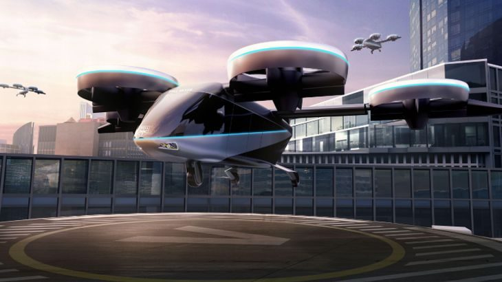 JAL、「空飛ぶクルマ」早期実用化へ住商や米ベルと業務提携