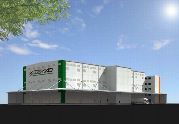 エスラインギフ、愛知・大口町に9778平方メートルの新センター開設へ