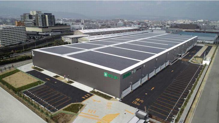 センコー、兵庫・尼崎で4・4万平方メートルの新物流センター開所