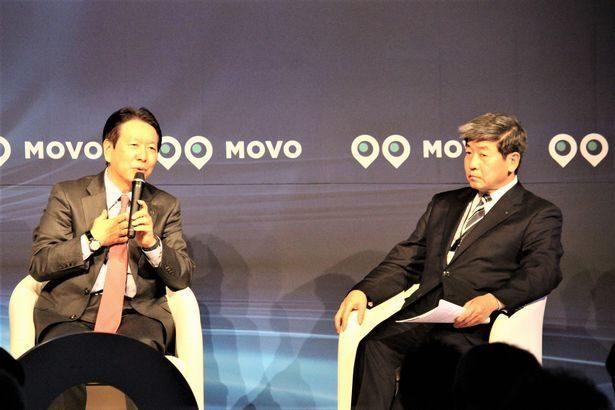 日野自・下社長とセイノーHD・田口社長、物流変革の基礎はデジタル化と指摘