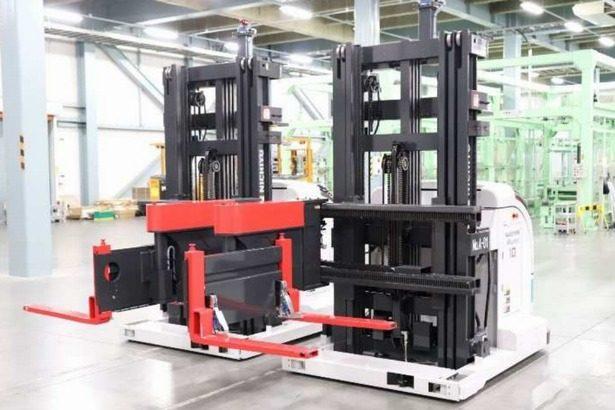 日本通運、静岡・吉田町の物流センターに自動フォークリフト2台導入