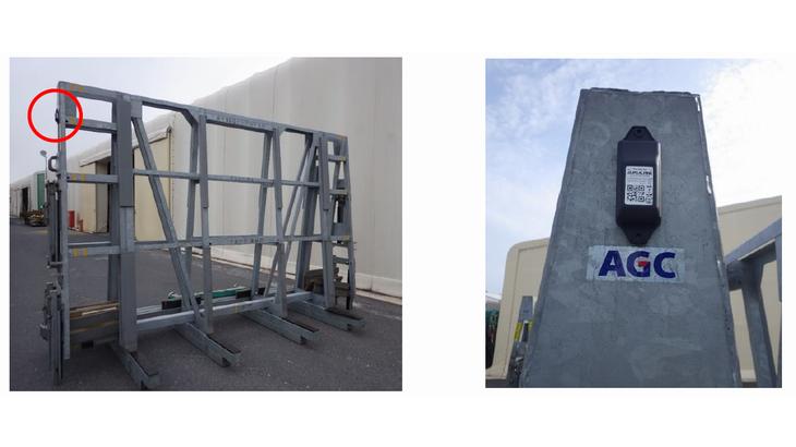 AGCとアルプスアルパイン、IoTでガラスの物流効率化へ