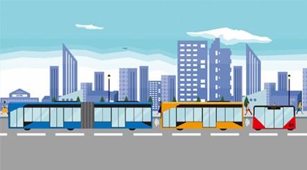 ソフトバンクとJR西、自動運転・隊列走行バスを共同開発へ