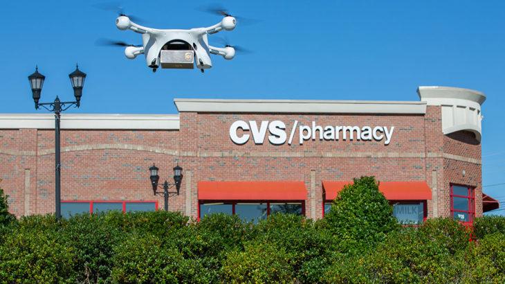 UPSと米ドラッグストアCVS、ドローン使った処方薬配達を5月に開始へ