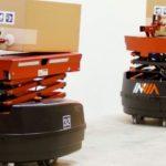 【動画】関通、米インヴィア・ロボティクスのAGV200台導入へ