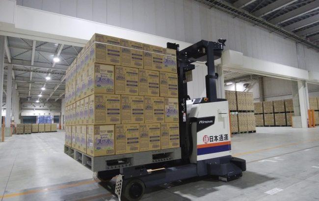 サントリー、神奈川・海老名と鳥取・江府の配送センターで自動化推進