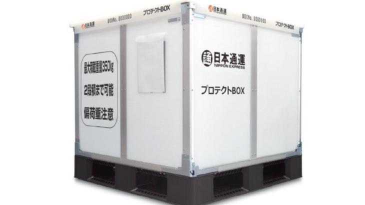 日本通運、新器材活用した国内輸送サービスを開始