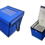 カネカグループ、医薬品などの定温輸送容器の新商品を発表