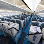 【新型ウイルス】ANA、国内航空会社で初めて旅客機の客席に貨物搭載し輸送