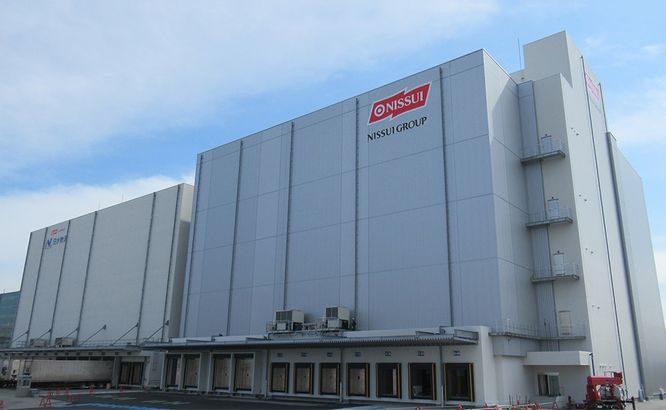 日水物流、大阪・舞洲の物流センター2号棟完成し庫腹は計5万トンに倍増