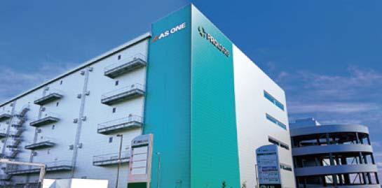 アズワン、千葉の新センター軸とした共同配送を構想